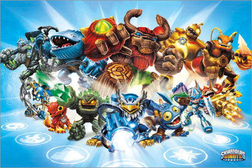 Skylanders Core Collection Wall Decal Shop Fathead for